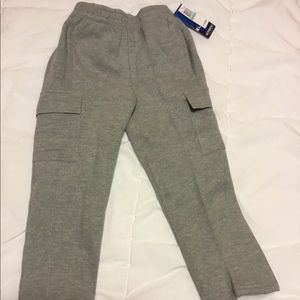 Brand new boys Champion heather sweatpants size 5